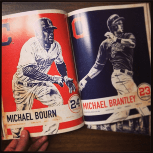 Player pages from 2014 Yearbook